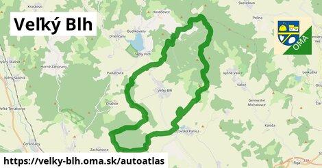ikona Mapa autoatlas  velky-blh