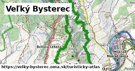ikona Turistická mapa turisticky-atlas  velky-bysterec
