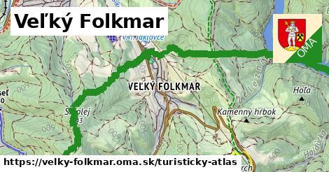 ikona Turistická mapa turisticky-atlas  velky-folkmar