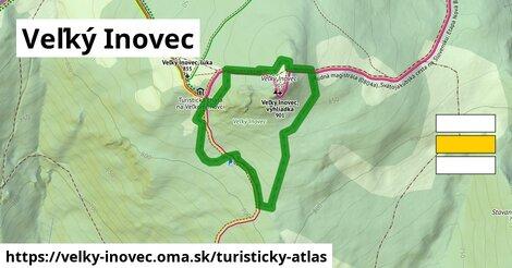 ikona Turistická mapa turisticky-atlas  velky-inovec