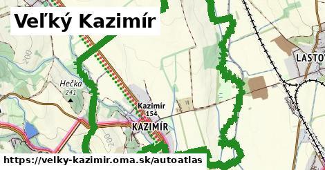 ikona Mapa autoatlas  velky-kazimir