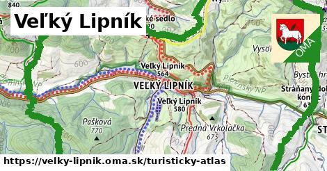 ikona Turistická mapa turisticky-atlas  velky-lipnik