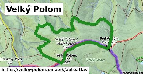 ikona Mapa autoatlas  velky-polom