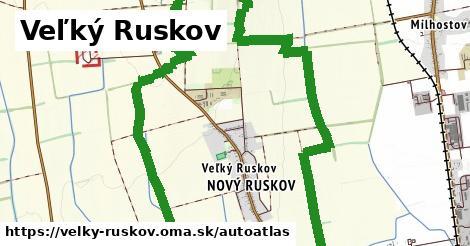 ikona Mapa autoatlas  velky-ruskov