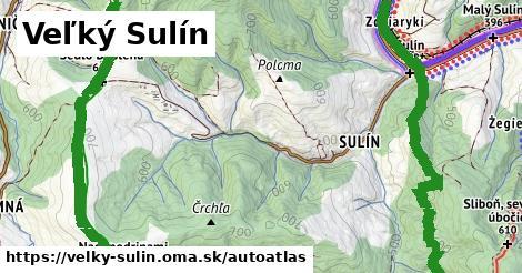 ikona Mapa autoatlas  velky-sulin