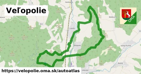 ikona Mapa autoatlas  velopolie