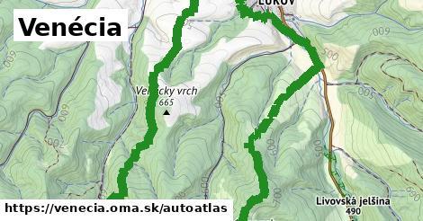ikona Mapa autoatlas  venecia