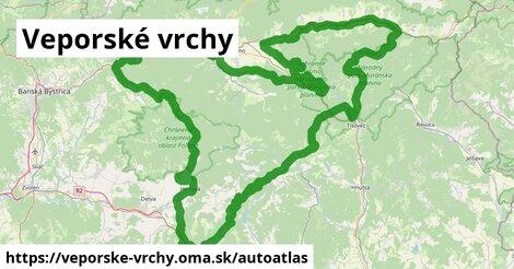 ikona Mapa autoatlas  veporske-vrchy