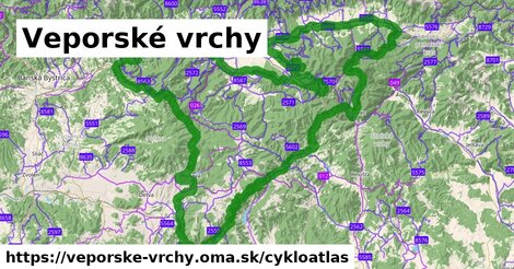 ikona Cykloatlas cykloatlas  veporske-vrchy