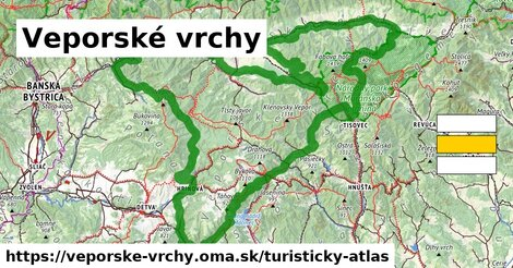 ikona Turistická mapa turisticky-atlas  veporske-vrchy