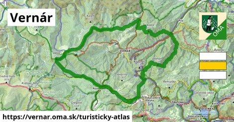 ikona Turistická mapa turisticky-atlas  vernar