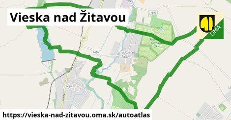 ikona Mapa autoatlas  vieska-nad-zitavou