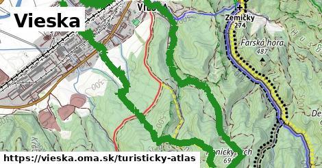 ikona Turistická mapa turisticky-atlas  vieska