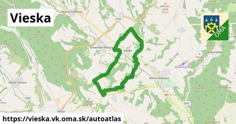 ikona Mapa autoatlas  vieska.vk
