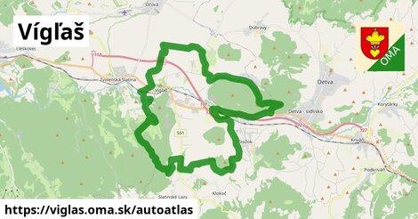 ikona Mapa autoatlas  viglas