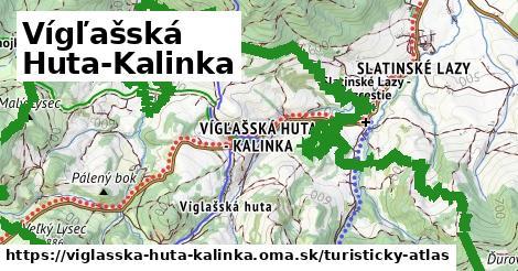 ikona Turistická mapa turisticky-atlas  viglasska-huta-kalinka