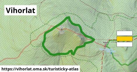 ikona Turistická mapa turisticky-atlas  vihorlat
