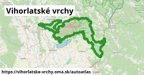 ikona Mapa autoatlas  vihorlatske-vrchy