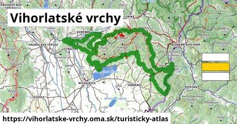 ikona Turistická mapa turisticky-atlas  vihorlatske-vrchy