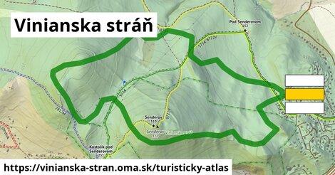 ikona Turistická mapa turisticky-atlas  vinianska-stran