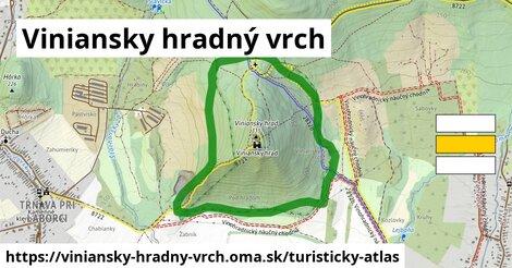 ikona Turistická mapa turisticky-atlas  viniansky-hradny-vrch