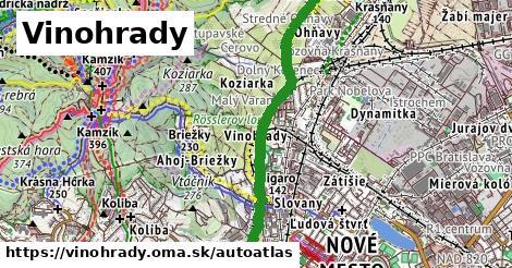 ikona Mapa autoatlas  vinohrady