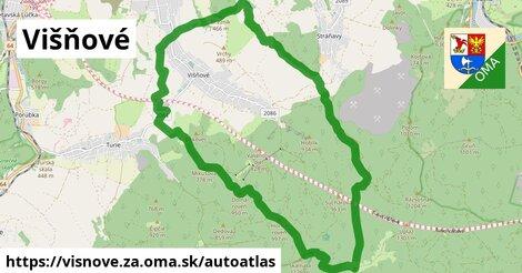 ikona Mapa autoatlas  visnove.za