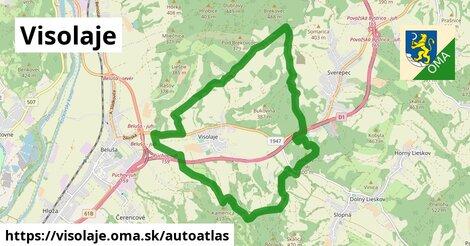 ikona Mapa autoatlas  visolaje