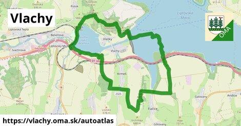 ikona Mapa autoatlas  vlachy