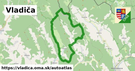 ikona Mapa autoatlas  vladica
