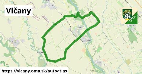 ikona Mapa autoatlas  vlcany