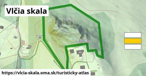 ikona Turistická mapa turisticky-atlas  vlcia-skala