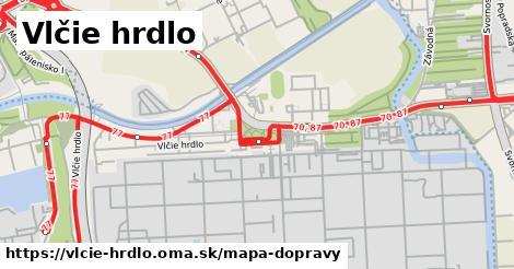 ikona Mapa dopravy mapa-dopravy v vlcie-hrdlo