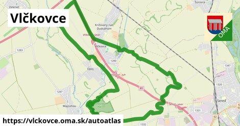ikona Mapa autoatlas  vlckovce