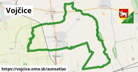 ikona Mapa autoatlas  vojcice