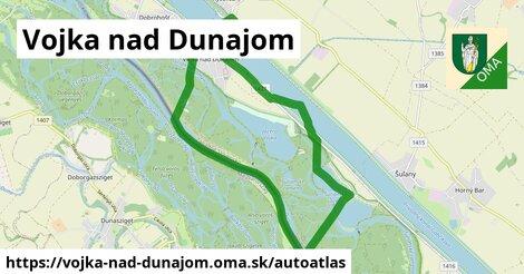 ikona Mapa autoatlas  vojka-nad-dunajom