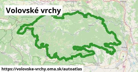 ikona Mapa autoatlas  volovske-vrchy