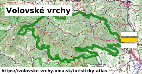 ikona Turistická mapa turisticky-atlas  volovske-vrchy
