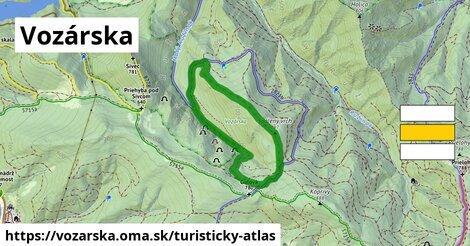 ikona Turistická mapa turisticky-atlas  vozarska