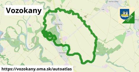 ikona Mapa autoatlas  vozokany