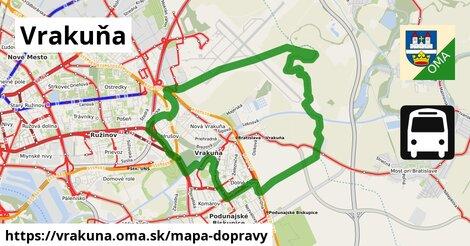 ikona Mapa dopravy mapa-dopravy  vrakuna