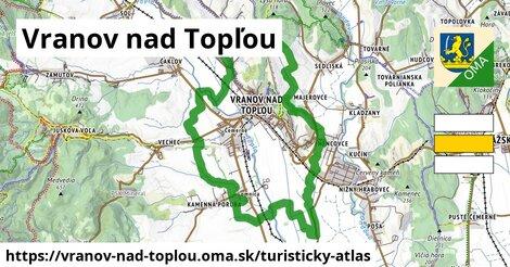 ikona Turistická mapa turisticky-atlas  vranov-nad-toplou