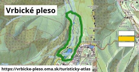 ikona Turistická mapa turisticky-atlas  vrbicke-pleso