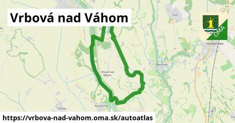 ikona Mapa autoatlas  vrbova-nad-vahom