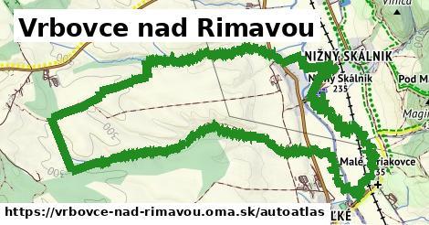 ikona Mapa autoatlas  vrbovce-nad-rimavou