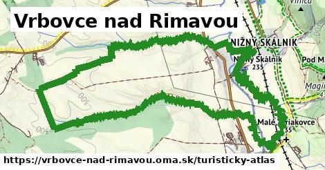 ikona Turistická mapa turisticky-atlas  vrbovce-nad-rimavou