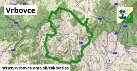ikona Vrbovce: 19km trás cykloatlas  vrbovce