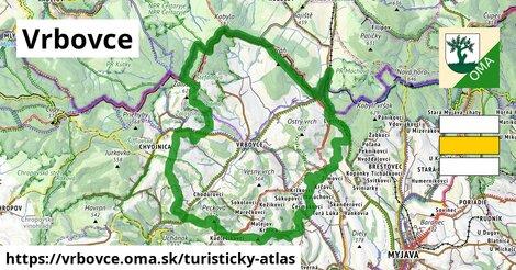 ikona Turistická mapa turisticky-atlas  vrbovce
