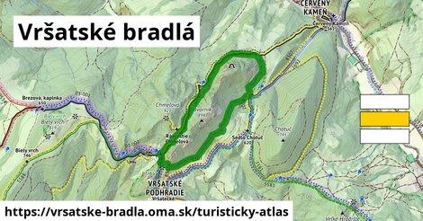 ikona Turistická mapa turisticky-atlas  vrsatske-bradla