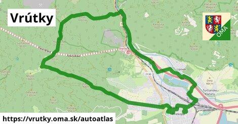 ikona Mapa autoatlas  vrutky